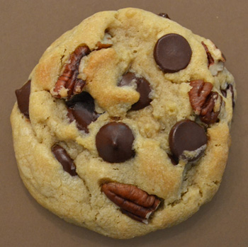 Pecan Dark Chocolate Chip Cookie