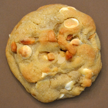 Macadamia White Chocolate Chip Cookie